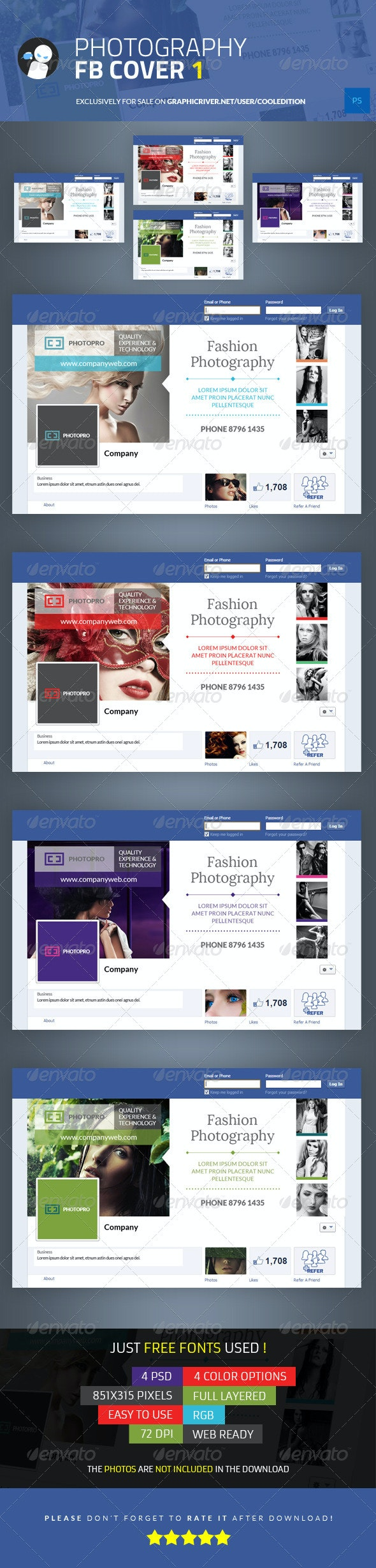 Photography Facebook Cover 1 - Facebook Timeline Covers Social Media