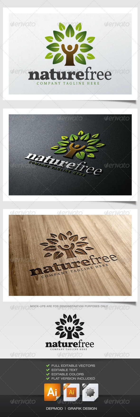 Nature Free Logo - Nature Logo Templates