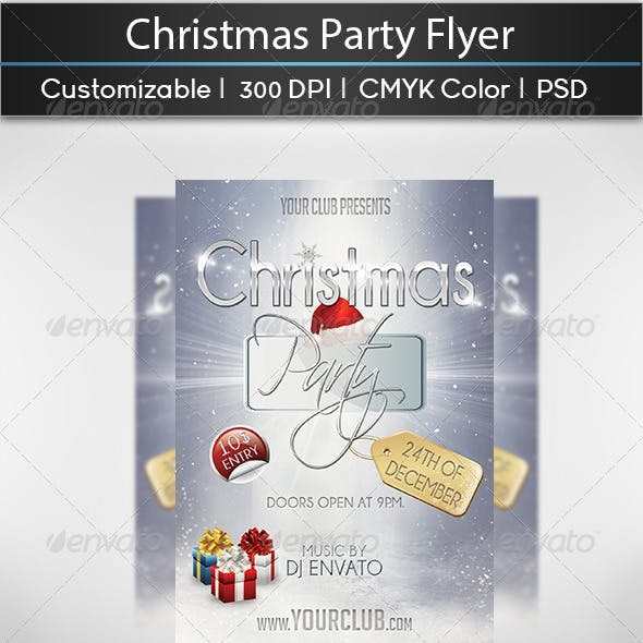 Christmas Party Flyer