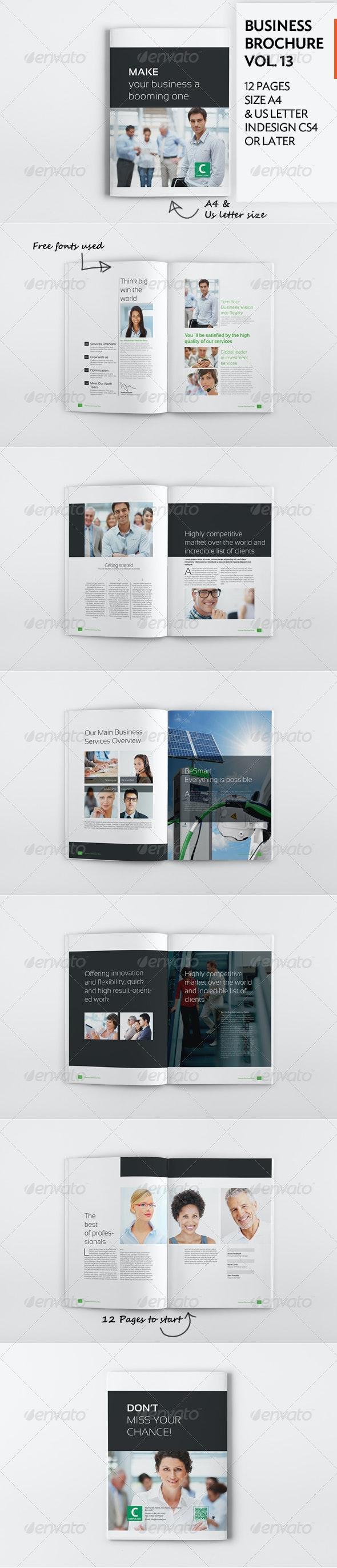 Business Brochure Vol. 13 - Corporate Brochures