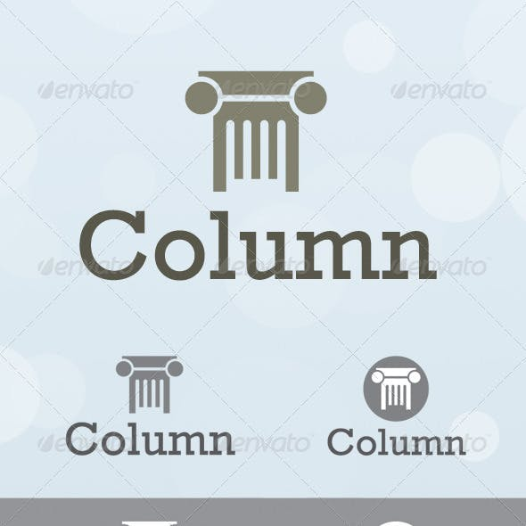 Column Consulting Logo Template