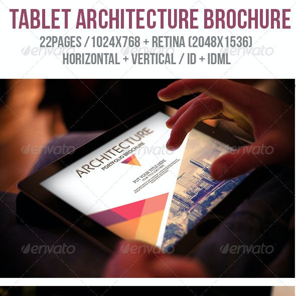 iPad & Tablet Architecture Porfolio Brochure