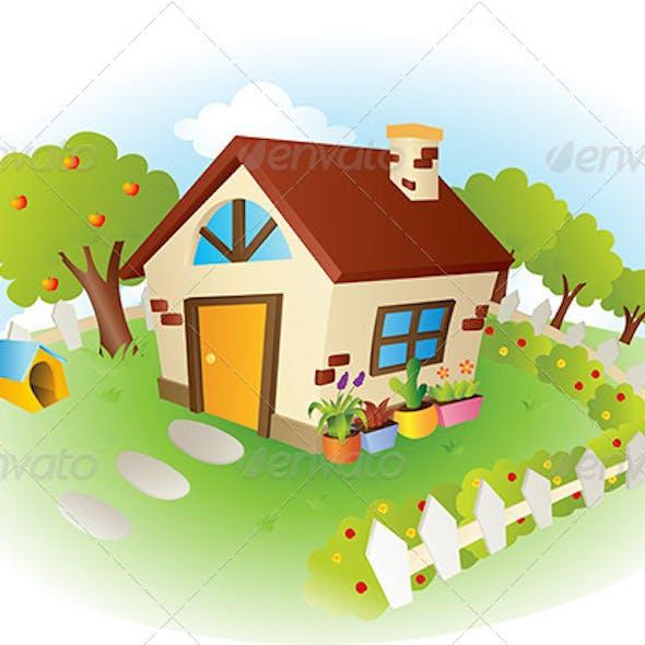 House Vector Illustration
