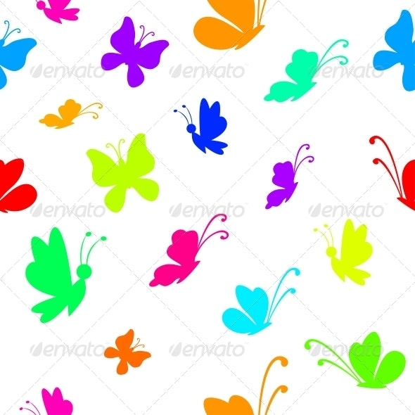 Background Butterflies - Patterns Decorative