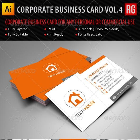 Corporate Business Card Vol.4