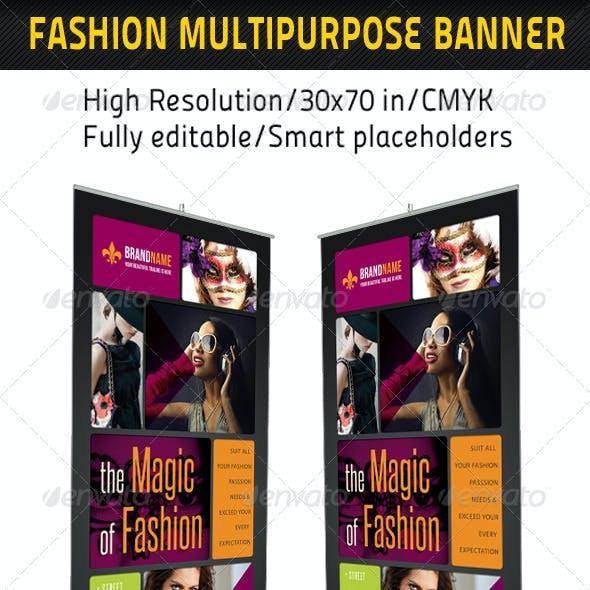 Fashion Multipurpose Banner Template 13