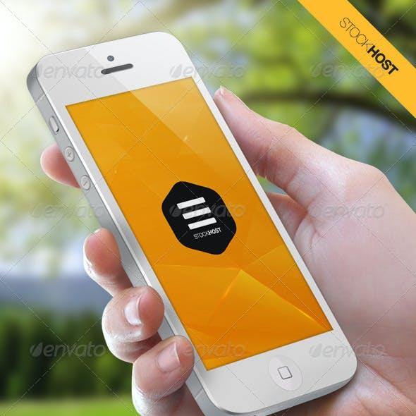 Stock Host - Retina Mobile User Interface