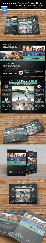 Multipurpose Business Brochure 12 - Corporate Brochures