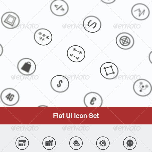 Flat UI Icon Set