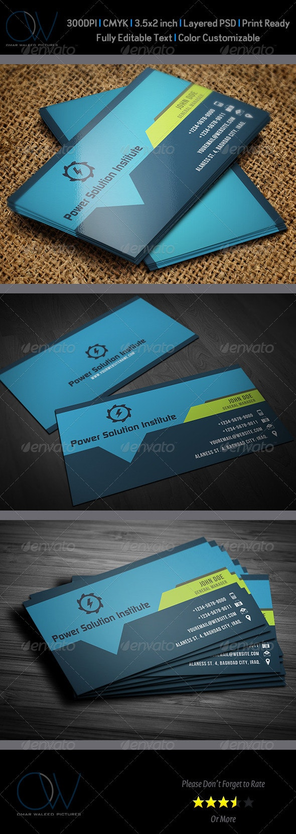 Corporate Business Card Vol.40 - Corporate Business Cards