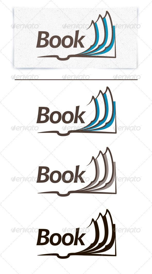 Book Logo - Objects Logo Templates