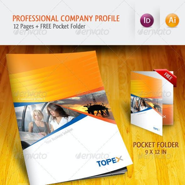 Professional Company Profile Brochure Template