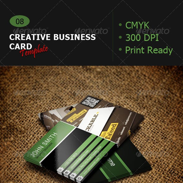 Creative Business Card Template 08