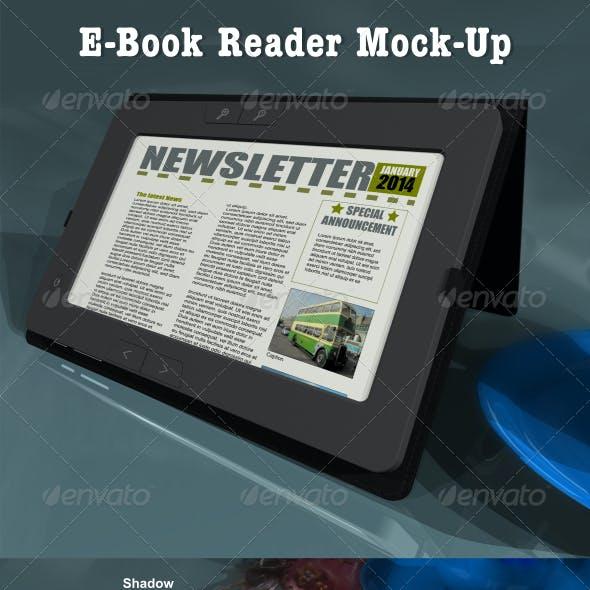 eBook Reader Mock-Up