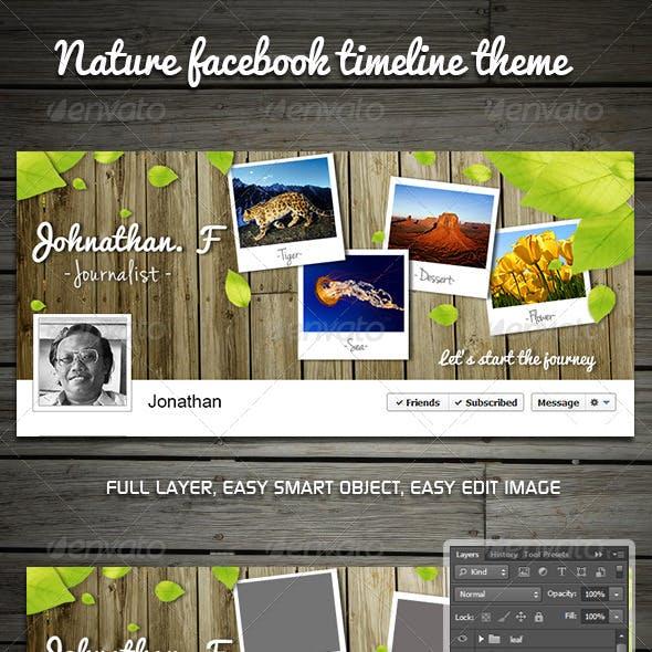 Nature Facebook Timeline Theme