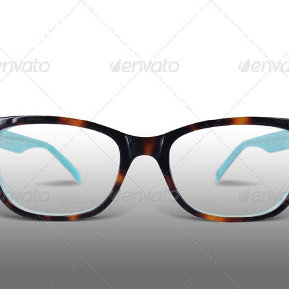 funky retro glasses