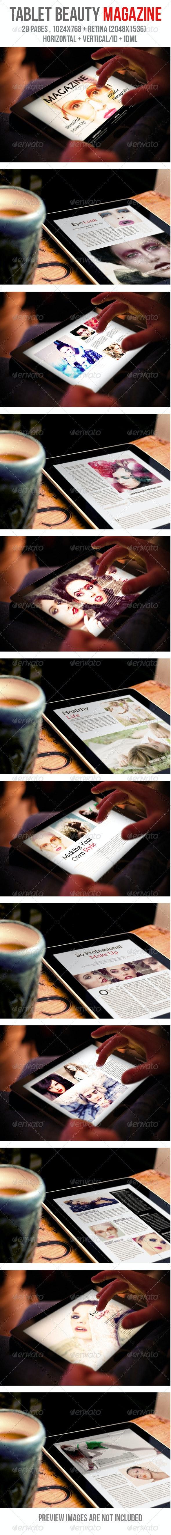 iPad & Tablet Beauty Magazine - Digital Magazines ePublishing