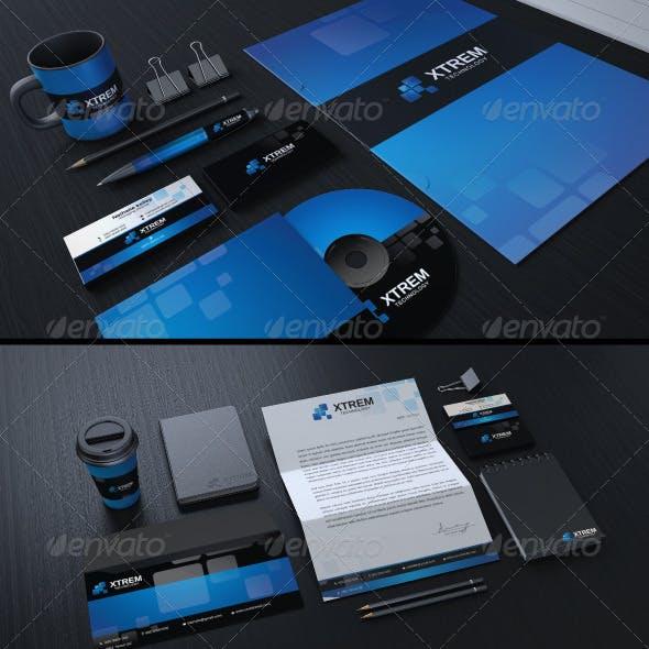 Creative Corporate Identity 01