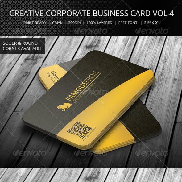 Creative Corporate Business Card Vol 6