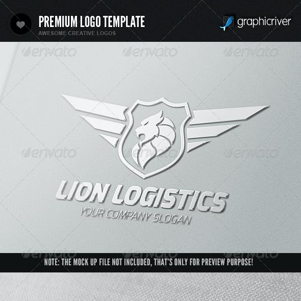 Lion Logistics Logo