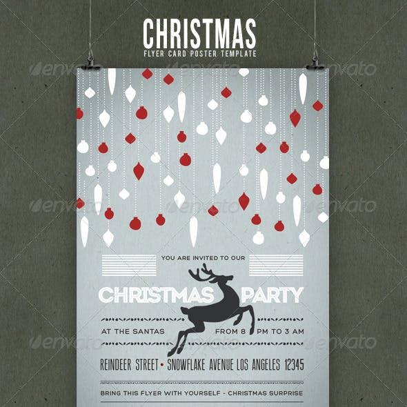 Christmas Flyer/Poster Retro Vol.4