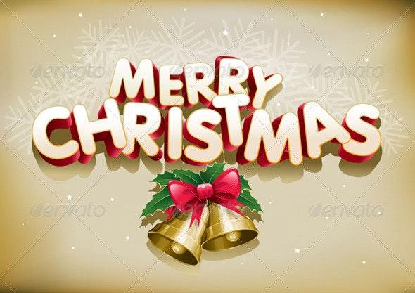 Merry Christmas Card - Christmas Seasons/Holidays