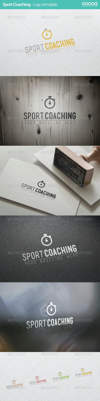 Sport Coaching - Logo template - Logo Templates