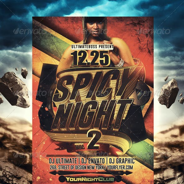 Spice Night Flyer