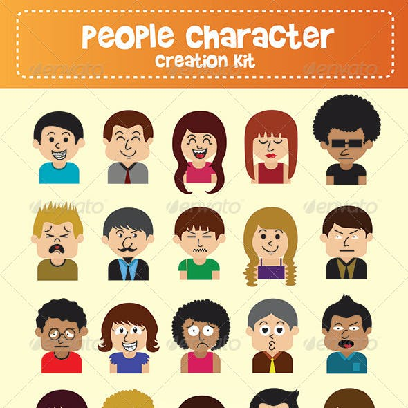 People Character Creation Kit
