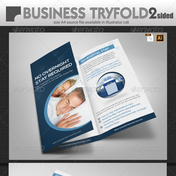Universal Business Tri-Fold