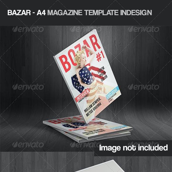 Bozar - Magazine Template Indesign