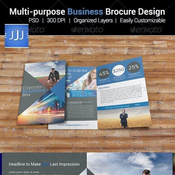 Multipurpose Business Bifold Brochure 13