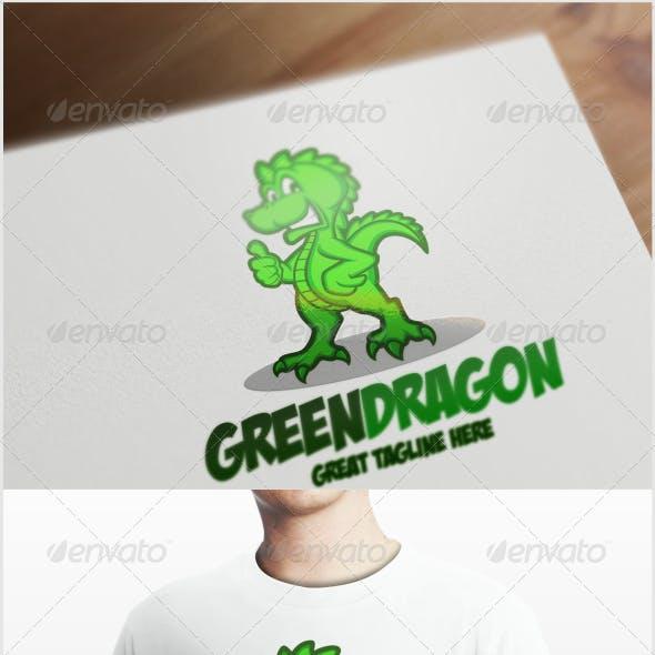 Green Dragon Logo Template