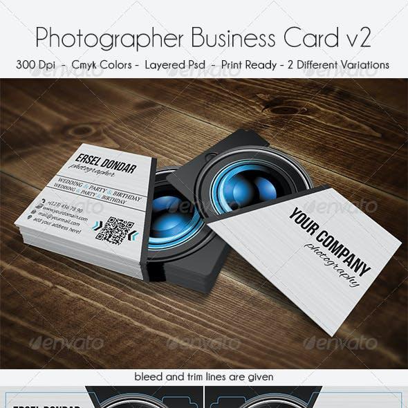 Photographer Business Card v2