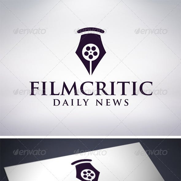 Film Critic Logo Template