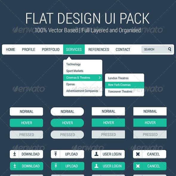Flat Design UI Pack
