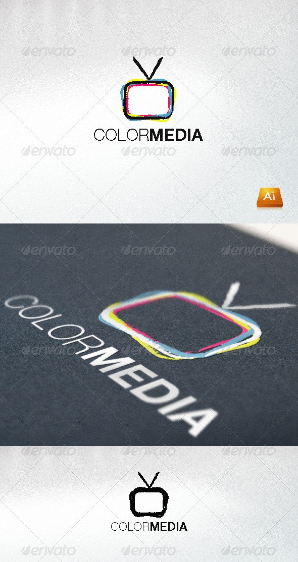 ColorMedia - Abstract Logo Templates