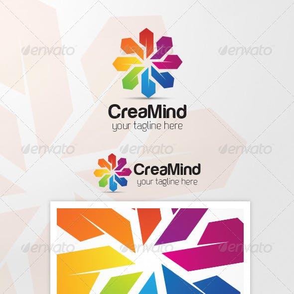 CreaMind Logo Template