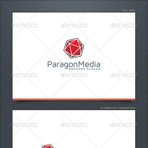 Paragon Media Logo Template