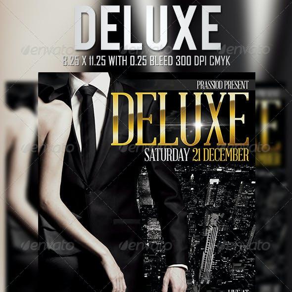Deluxe Flyer Template