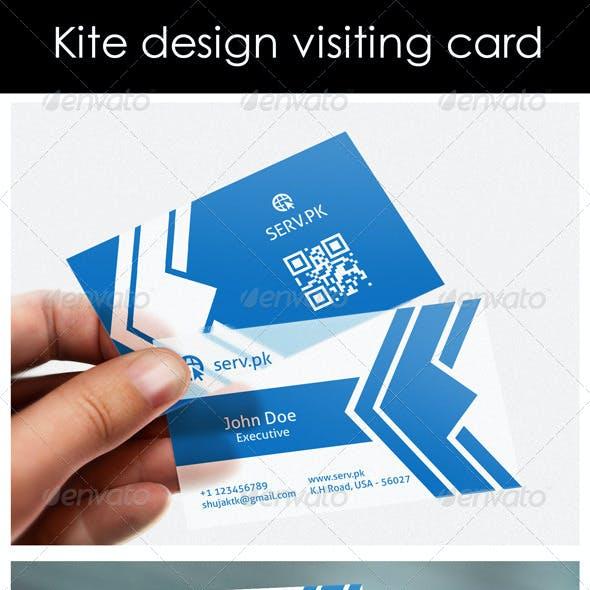 Kite type Logo & Business Card