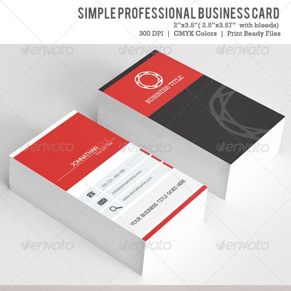 Simple  Business Card VOL-02