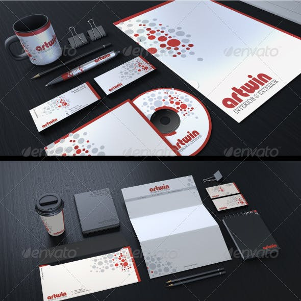 Creative Corporate Identity 03