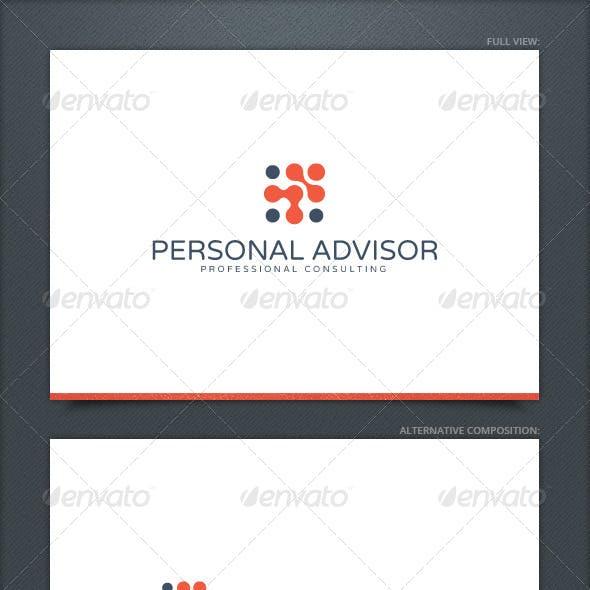 Personal Advisor Logo Template