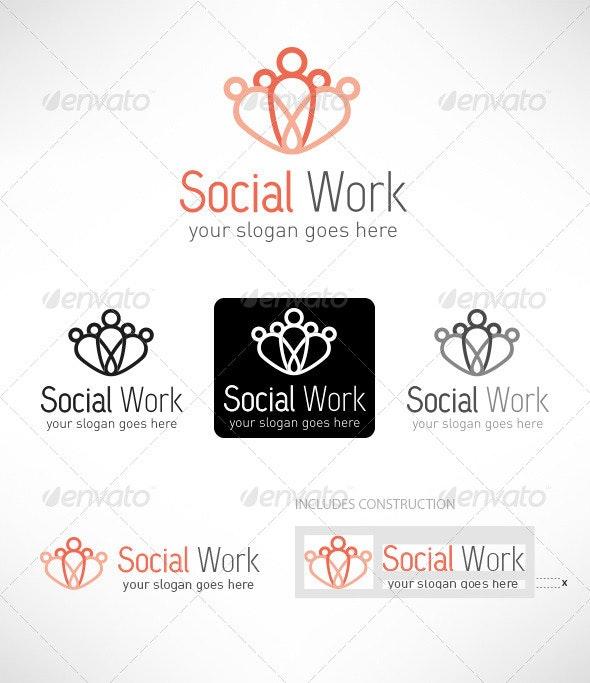 Social Work - Logo Templates