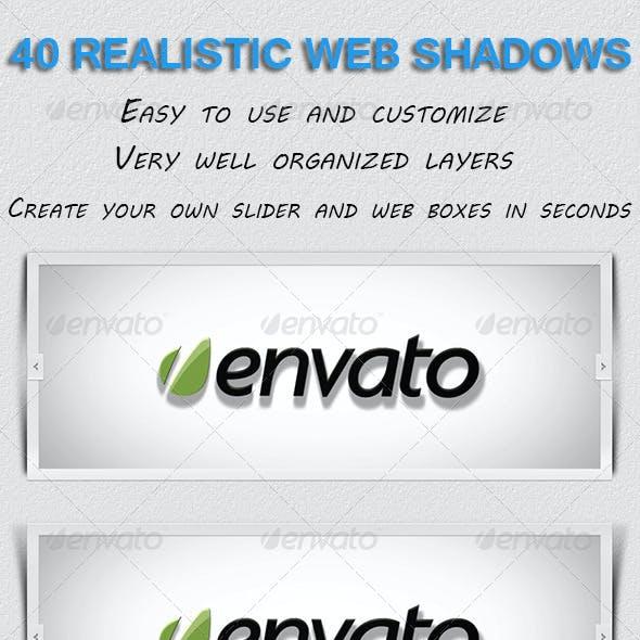 40 Realistic Web Shadows