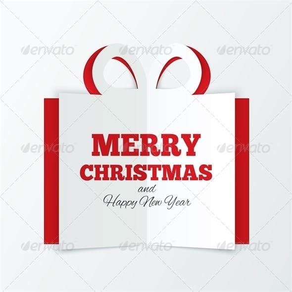 Christmas Box Cut the Paper