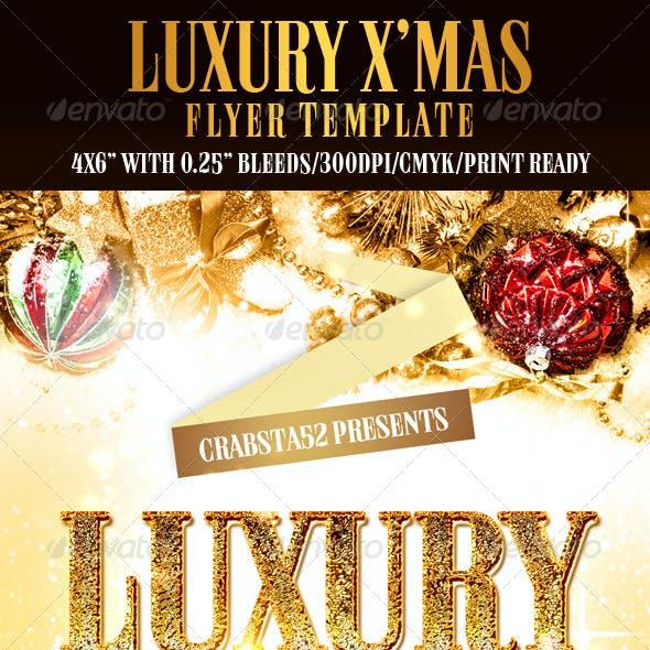 Luxury X'mas Flyer Template