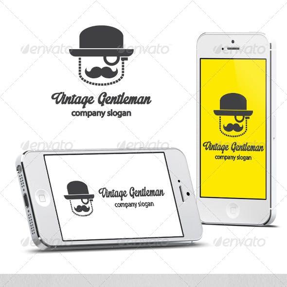 Vintage Gentleman Logo
