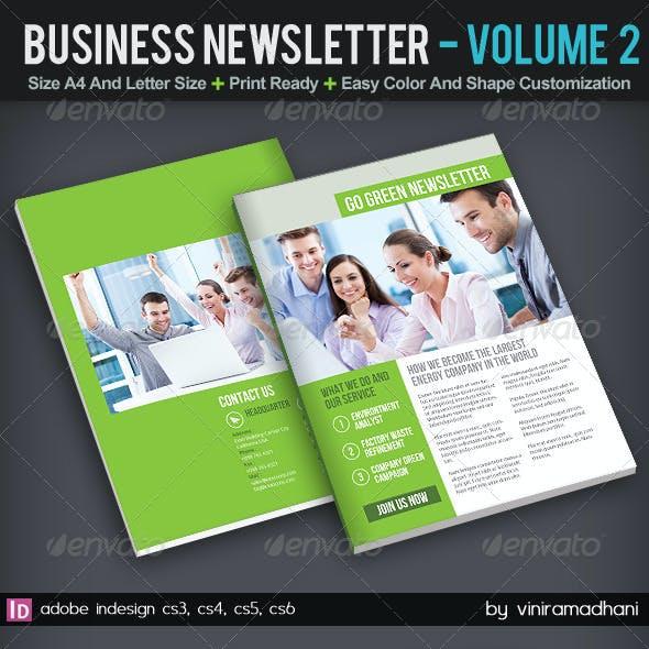 Business Newsletter | Volume 2
